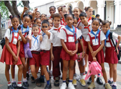 School children in La Habana